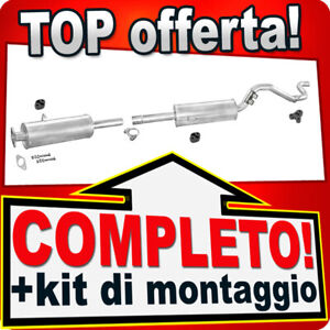 Scarico Completo FORD TRANSIT & TOURNEO 2.5 Diesel SWB 2835mm 1996-2000 N47