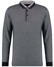 Patternless Modern Long Sleeve Casual Shirts & Tops for Men