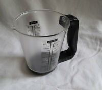 Liquid Digital Measuring Cup chef  LCD Detachable kitchen Scale +/- 1g Accuracy