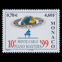 Monaco 1999 - 10th Piano Masters Monte Carlo Music Art - Sc 2112 MNH