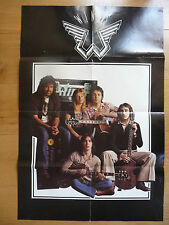 Original Large Paul McCartney Wings 1976 Tour Poster Wings over the World