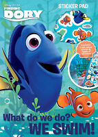 Disney Pixar's Finding Dory Sticker Pad Childrens Activity Stickers Party Kids