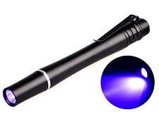 Mini  UV Currency Money LED Flashlight  Torch Lamp Keyring  Note  Detector UK