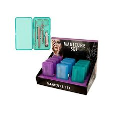 Manicure Set In Case Countertop Display -  [Cosmetics, Nail Tools]