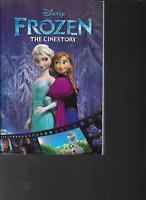 Frozen the Cinestory Comic Book Disney Joe Books Paperback 2014