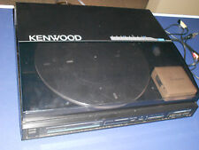 KENWOOD KD 64 F LINEAR TRACKING TURNTABLE   WORKS GREAT !!