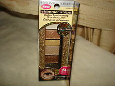 PHYSICIANS FORM SHIMMER STRIPS SHADOW/LINER SHIMMERY GOLD NUDE EYES FOR ALL