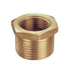 "Boccola di riduzione 1//2/"" NPT-M x 3//8/"" NPT-F Ottone Reducing Bushing Brass"