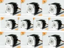 "10PCS Nema23 Stepper Motor 57BYGH627 270oz-in 3.0A 1/4""Shaft 3D Printer Milling"