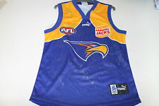 WEST COAST EAGLES 2006 PREMIERS TEAM SIGNED JERSEY UNFRAMED+ PHOTO PROOF & C.O.A