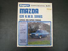 GREGORYS #181 MAZDA 626 R.W.D SERIES SERVICE & REPAIR MANUAL.