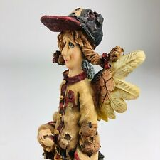 Vintage Boyds Bears & Friends Folkstone Baseball Angel Figurine 3E/3013 2826