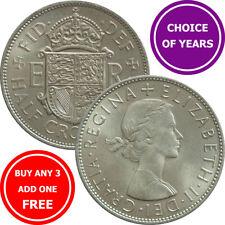 Half Crown : 1953-1967 : Elizabeth II : 2s6d or 2/6 Coin : Choose Year