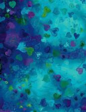 Digitally Printed Cotton Fabric Chong-a Hwang Falling Full Heart CD6664 BTY