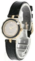 RADO Quartz Gray Dial Black Leather Strap Women's Watch R48688105