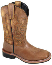 Kid'S Leroy Tan Leather Cowboy Kids Boot