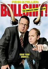 Penn Teller Bullshit The Complete Fourth Season 3 Discs 2007 DVD