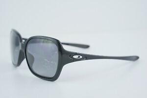 Oakley OVERTIME Polished Black/Grey Polarized 59-15 OO9167-16 Sunglasses