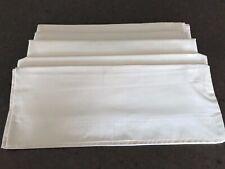 Bedding Bundle : 3 Single Bed Flat Sheets + 2 Pillowcases