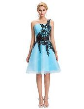 Corto Mini vestido de noche BODA baile Formal fiesta cóctel