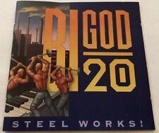 BIGOD 20 Steel Works! CD album 1992 EBM Industrial zoth ommog/Sire front 242