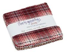 "Moda FABRIC Charm Pack ~ LIBERTY GATHERINGS WOVENS ~ Primitive Gatherings 5"" sq"