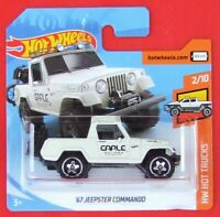 Hot Wheels 2019   ´67 JEEPSTER  COMMANDO  84/250  NEU&OVP