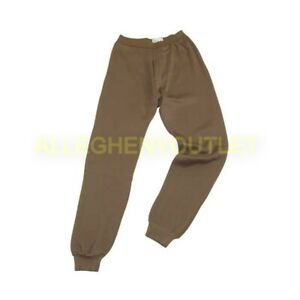 US Military HEAVYWEIGHT POLYPROPYLENE POLYPRO THERMAL UNDERWEAR Pants XL NIB
