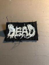 [9089 - PA1] Patch tissus pour t-shirt - coton - Punk-  Dead