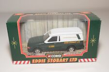 ^ CORGI TOYS 58304 FORD ESCORT 55 VAN EDDIE STOBART LTD ROADSIDE MINT BOXED