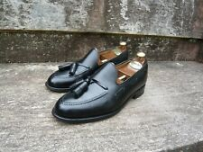 CROCKETT & JONES TASSEL LOAFER – BLACK - UK 8.5 (WIDE) – EXETER - EXCELLENT COND