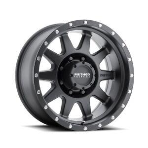 "Method Race Wheels MR30179060512N The Standard Black 17x9""/6x5.5 BP/-12 Offset"