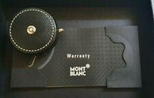 Authentic Montblanc Black Leather Tape Measure