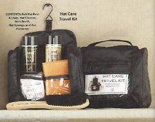 Travel Kit ~ HAT KIT ~ Rain Protector, Hat Cleaner, Brim Brush, Sponge, Cover