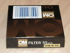 OLYMPUS OM ZUIKO 55mm Y2 YELLOW FILTER NEW IN BOX
