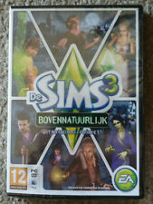 PC The Sims 3 Supernatural Expansion Pack New French Ver English Game Damage Box