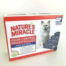 Nature's Miracle Odor Control Litter Receptacles For 1st Edition Box, 15-count