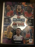 MATCH ATTAX 2020/21 FULL SET OF 336 BASE CARDS IN BINDER MINT + LIMITED