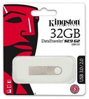 Kingston DataTraveler SE9 G2 USB 3.0 32GB Flash Pen Drive Memory Thumb Stick*