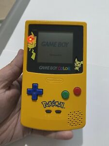 Nintendo GameBoy Colour Pokemon Pikachu Special Edition - Perfect Working Order