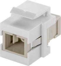 Goobay KeyStone fibre optic cable module - 2 SC-Simplex female