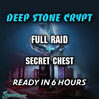 Raid (Deep Stone Crypt)( Xbox/ps4 ) - Pc Vía Cross Save! Available now!