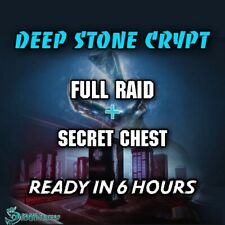 Deep Stone Crypt | Full Raid + Secret Cheest | Xbox Ps4 | Ready In 6 Hours