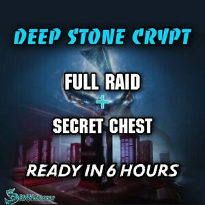 Deep Stone Crypt | Full Raid + Secret Cheest | Xbox Ps4 | available Today!!