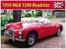 MG MGA Roadster 1959,Britannique Classique Voitures De Sport Image,Large Métal/
