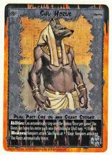 Rage CCG FOIL **ULTRA RARE** Shu Horus White Wolf War of Amazon Werewolf Wyrm