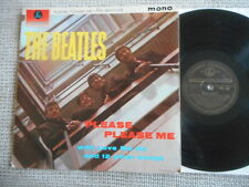 BEATLES Please Please Me  UK Black Gold PARLOPHONE LP 1963 MONO rare