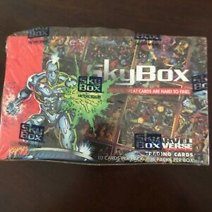 Marvel Universe 1993 36 pack Box (Factory Sealed) SkyBox