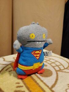 "UglyDoll DC Comics Approx 10"" Babo as Superman Plush By Gund"