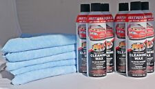 Waterless Wash Carnauba & Wax Fastwax FW1 Spray Can Removes Cleans Tar 6 Cans